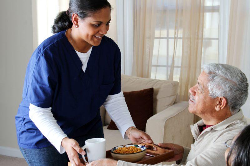 home healthcare patient